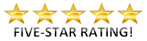 Five Star Rating Banner