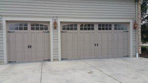 Recently Installed Garage Door