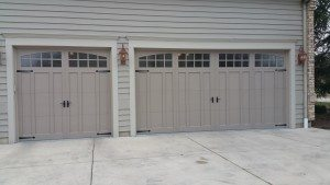 Recently Installed Garage Door